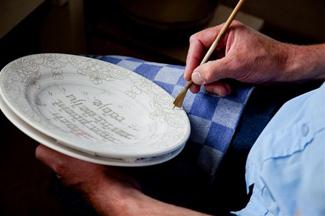 aardewerk-schilderen